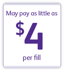 Pay as little as $4 per fill