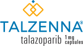 TALZENNA® (talazoparib) 1 mg capsules logo