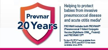 Prevnar 20 years logo