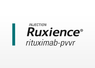 Ruxience (TM) rituximab-pvvr logo