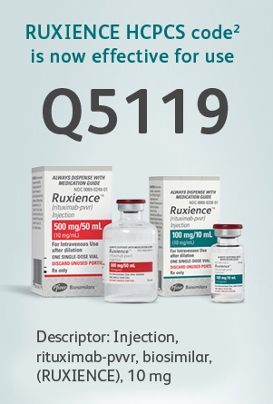 RUXIENCE HCPCS code(2) Q5119