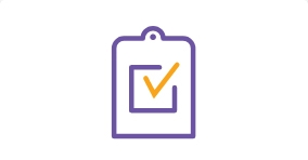 Clinical trial results icon