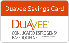 DUAVEE® (conjugated estrogens/bazedoxifene) | Safety Info