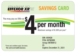 Savings card image
