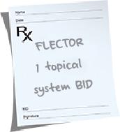 RX Flector pad