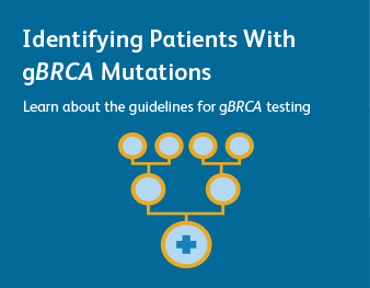 Identifying Patients With gBRCA Mutations Learn about the guidelines for gBRCA testing