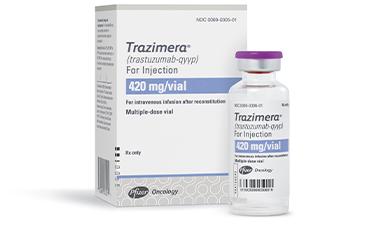 TRAZIMERA 420 mg/vial packaging image